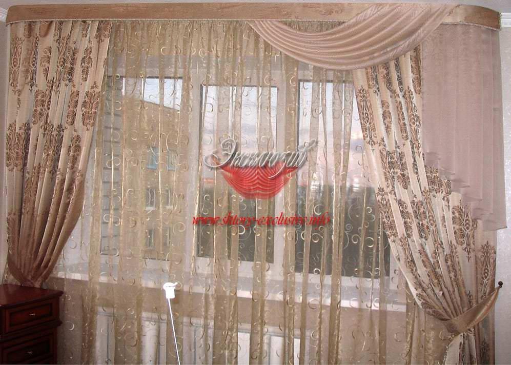 шторы гостиная комната