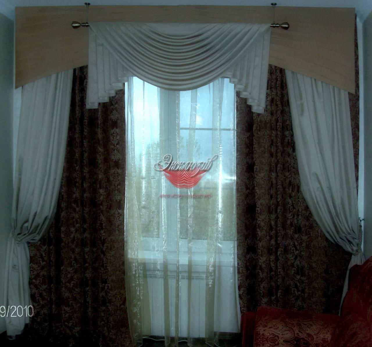 шторы с ламбрекеном фото