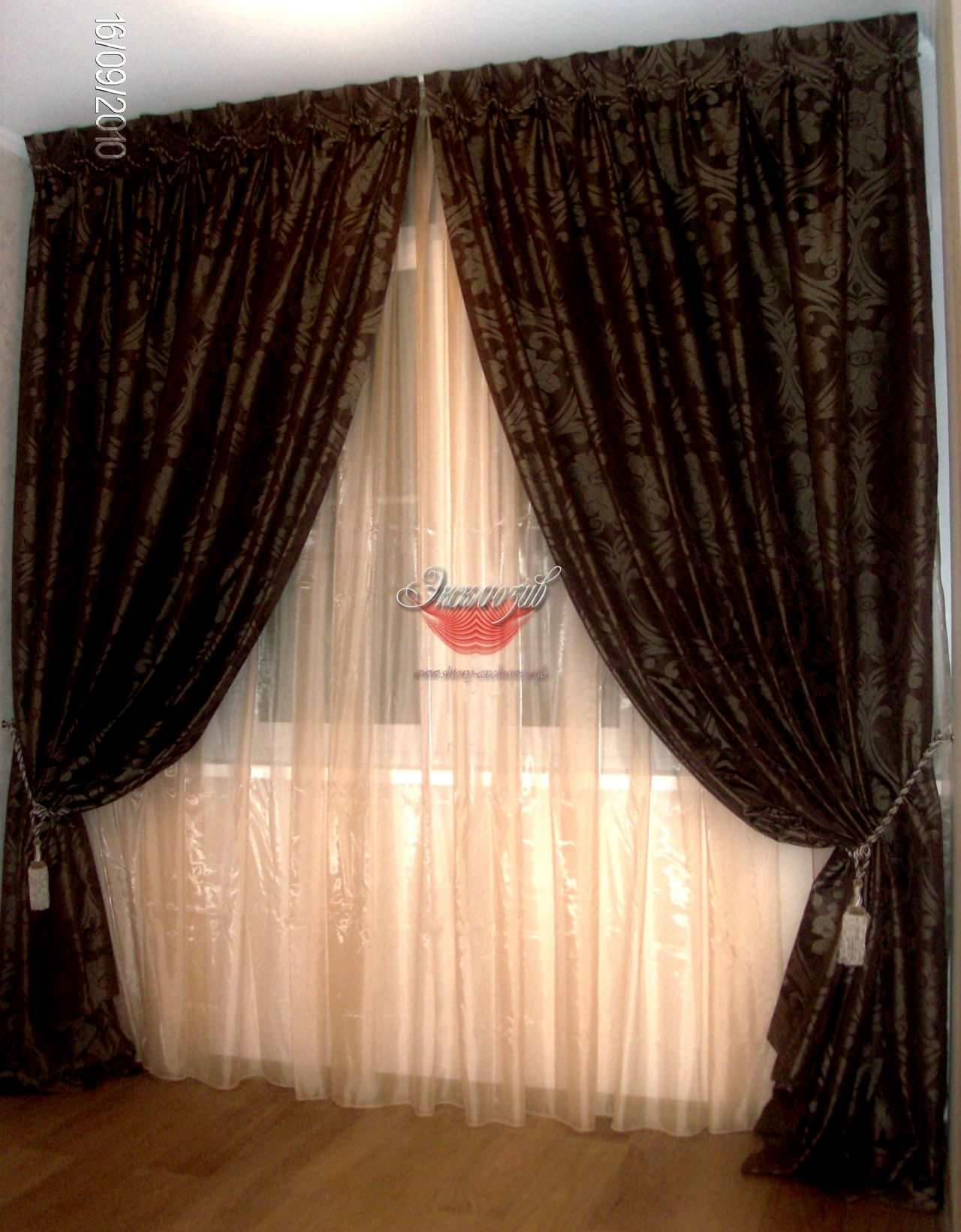 шторы гостиная фото