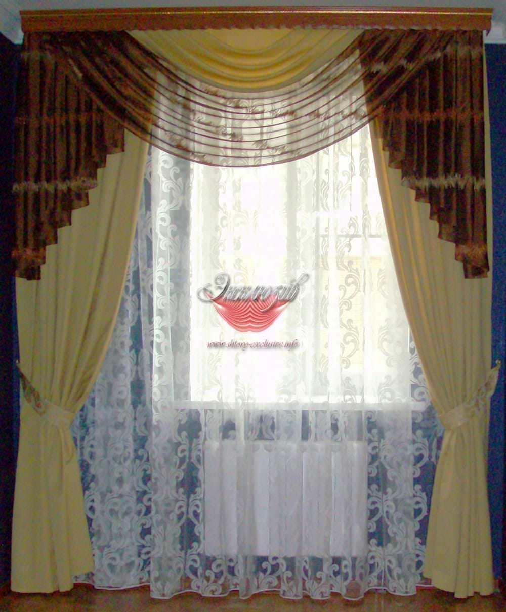 шторы в гостиную фото