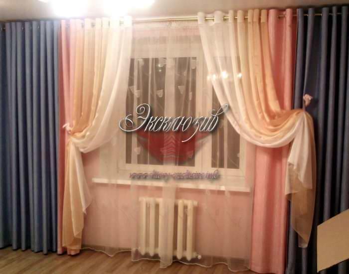 Гостиная шторы