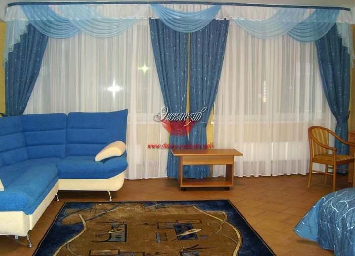 шторы интерьер гостиная